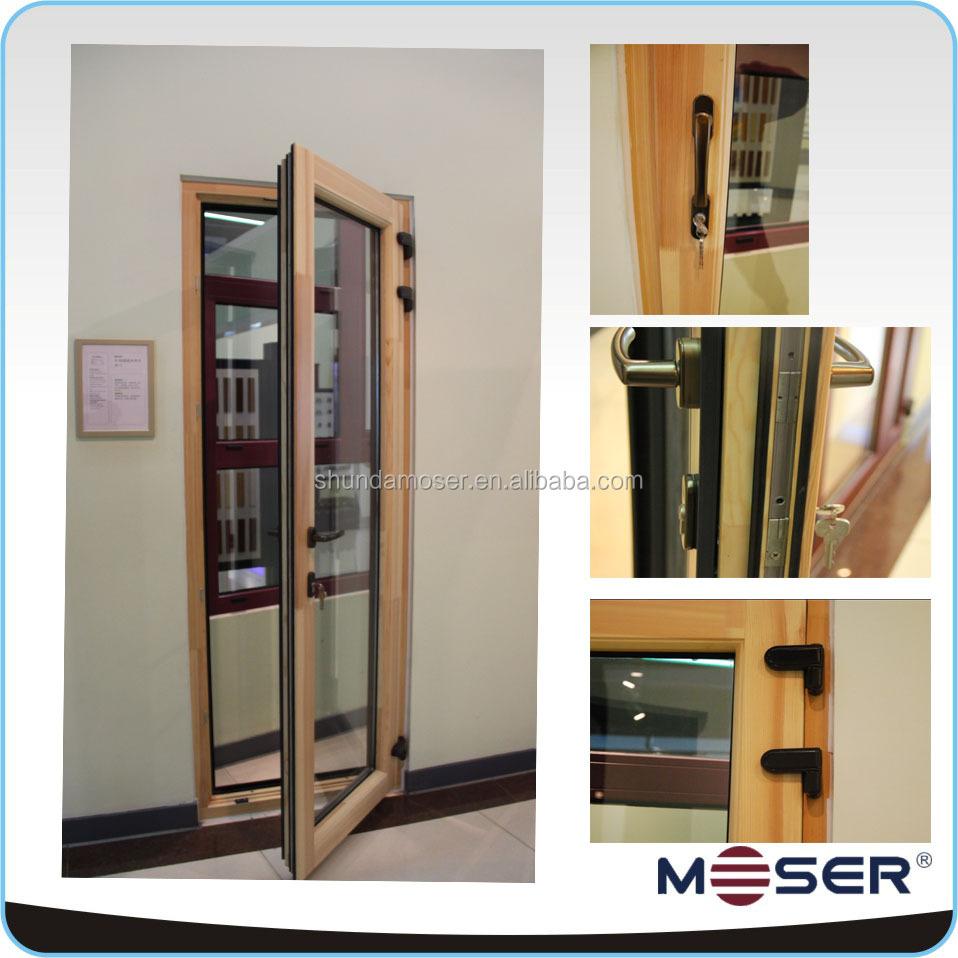 Exterior Solid Teak Or Oak Wooden Timber Doors Design Manufacturer