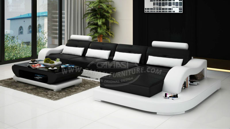 Ganasi Sofa Modern DesignLeather Sectional Couch Buy Sofa