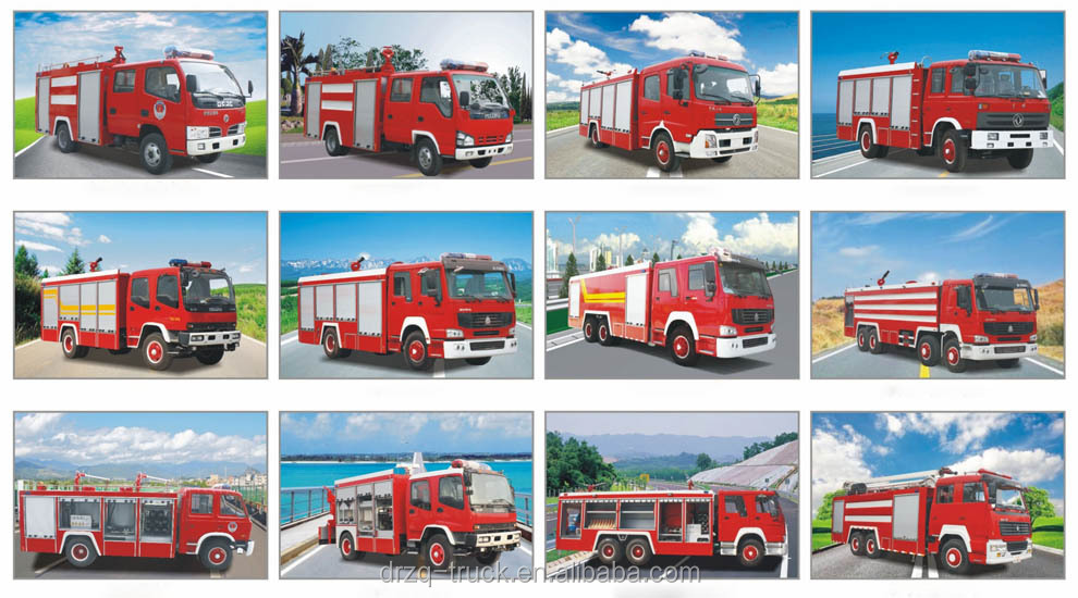 Sinotruk Different Types Of Fire TrucksFire Fighting Truck  Buy