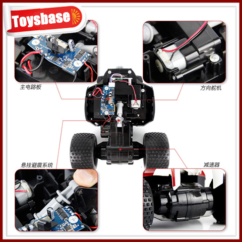 Wltoys Wl A929 1 8 Baja Large 4wd Proportional Brushless Rtr Electric Fastest Rc Truck