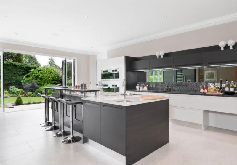 European style high gloss modern kitchen designbest for European modern kitchen cabinets