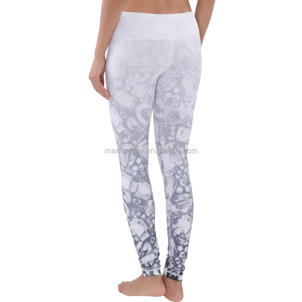 Brilliant Flexi Lexi Clothing Peekaboo Flexi Yoga Pants In White