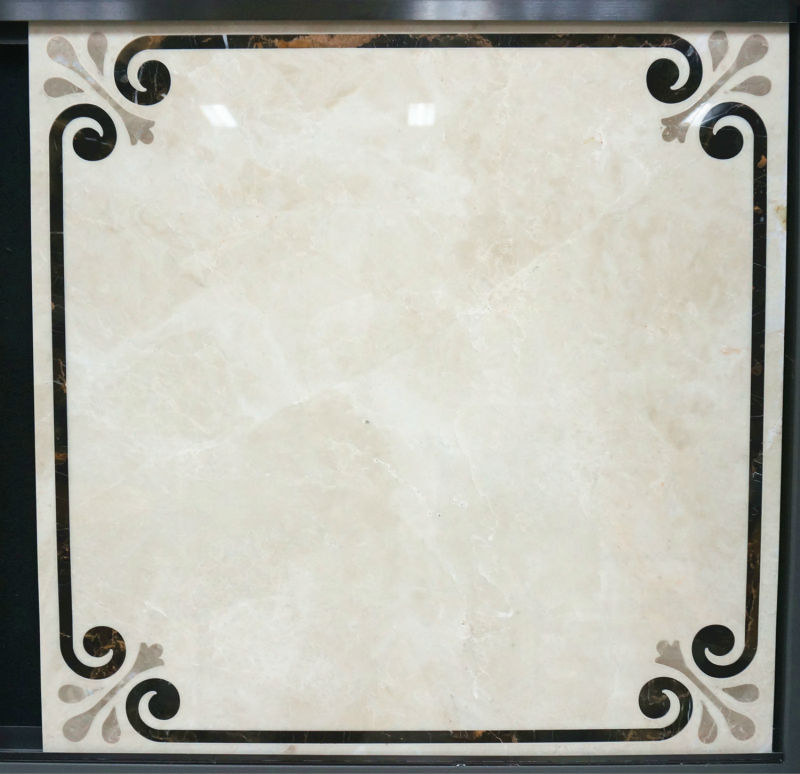 Italy Marble Tile Waterjet Marble Floor Tile For Saudi ...