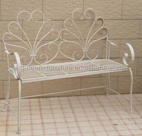 Artesanía Muebles Decoración Parque Crema Adornado Hierro Forjado ...