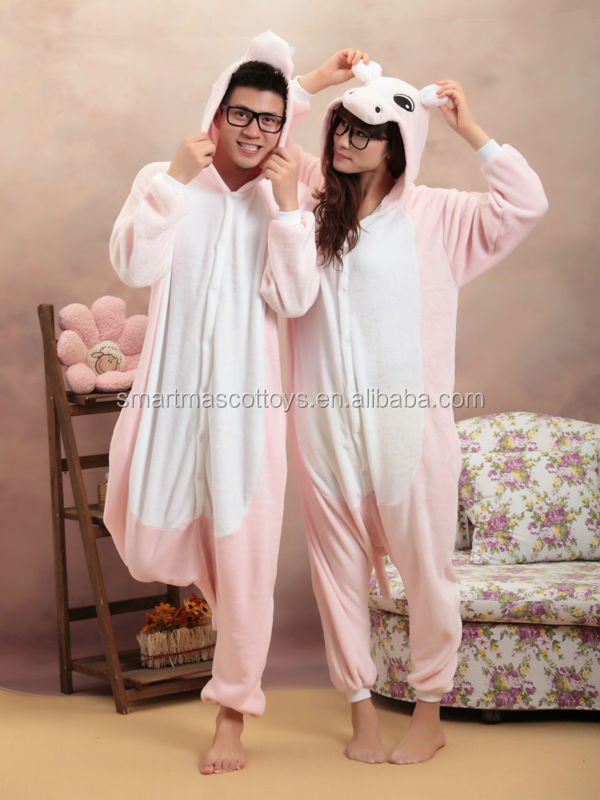 flannel animal pajamas adult anime onesie adult hippo drop seat onesie