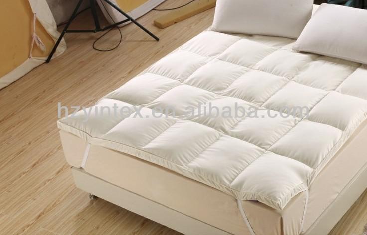 hotel feather mattress topper