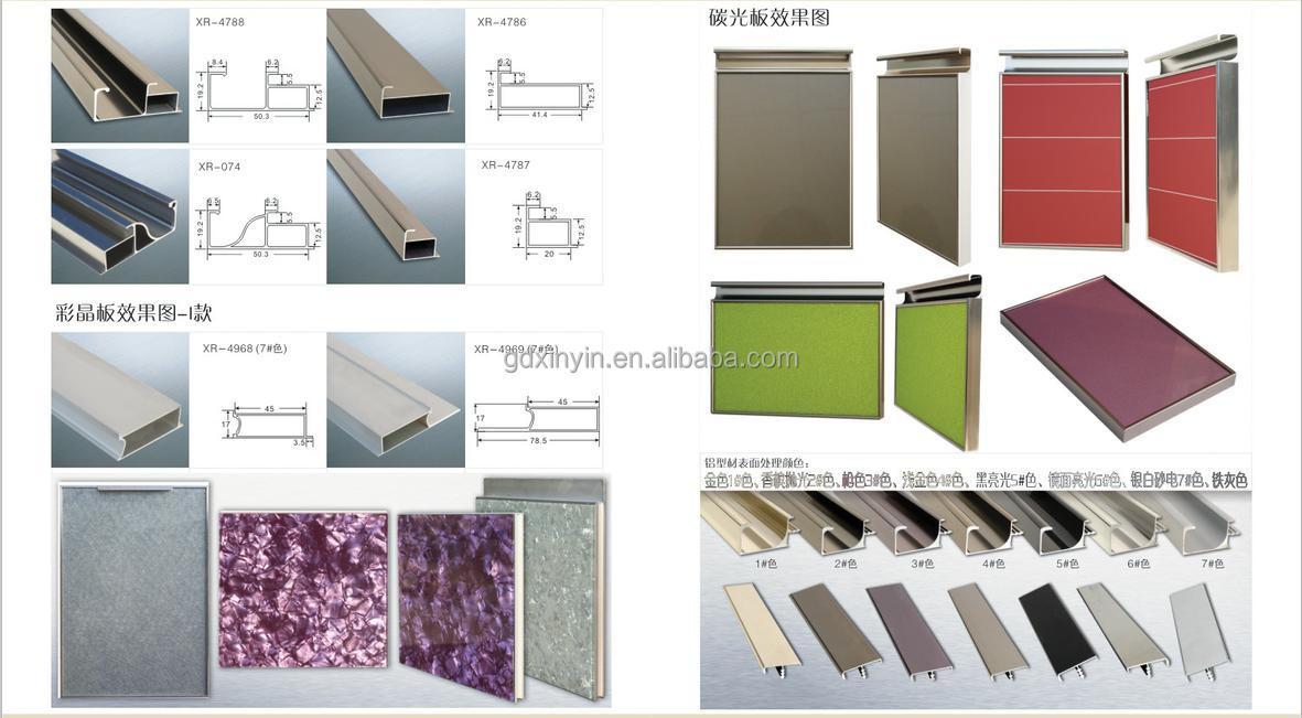Manija De Aleación De Aluminio Perfil Fabricación China Para Mueble ...