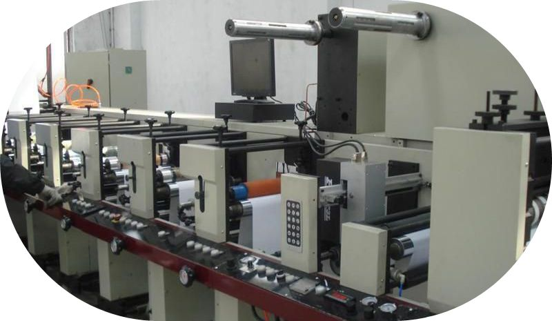 The Best Manufacturer Of Label Flexo Printing Machine Cf850/6 ...
