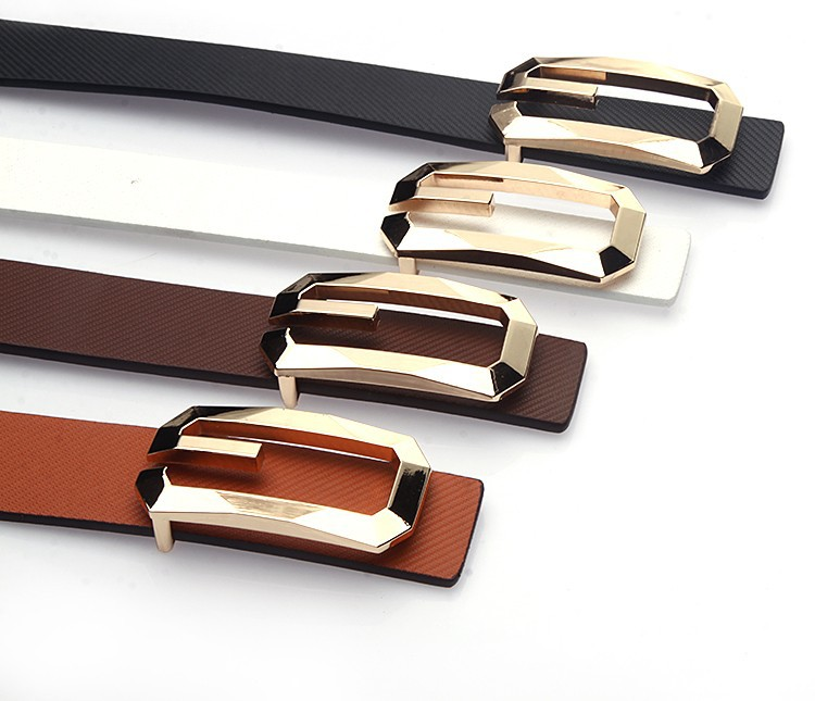 new arrival high quality faux leather unisex belt for man and woman