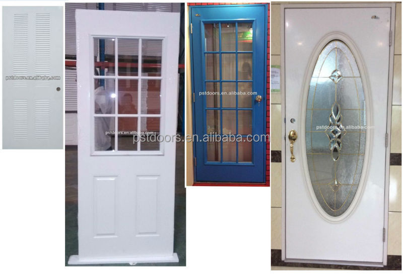 American galvanized Steel door, hollow metal door