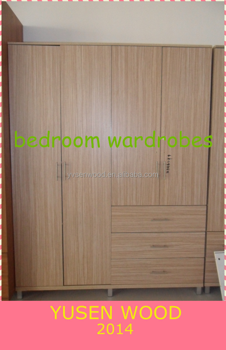 MDF/PB melamine bedroom -WR4-1