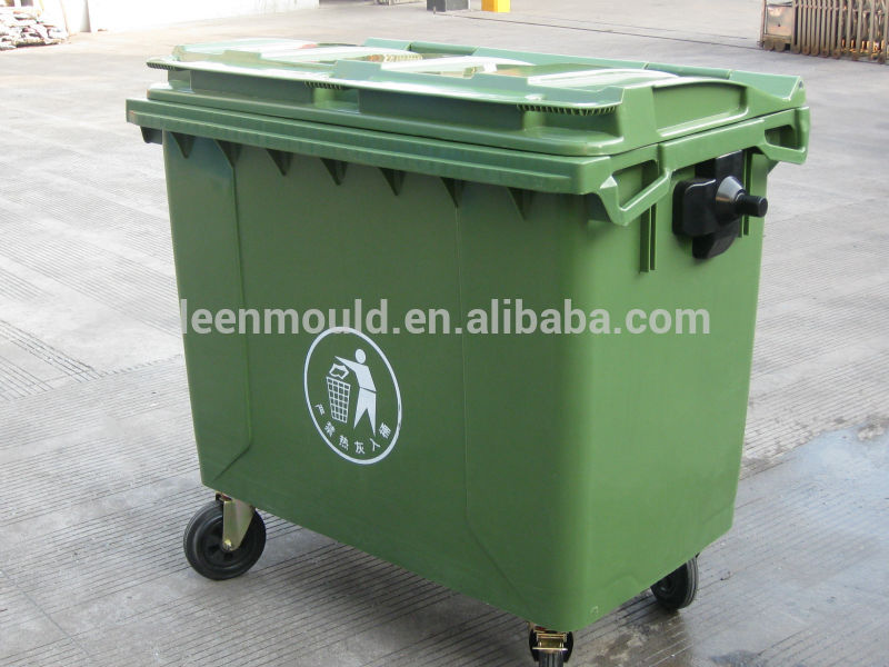 Taizhou Waste Bins,1100l Trash Cans,Outdoor Mobile Large Plastic ...