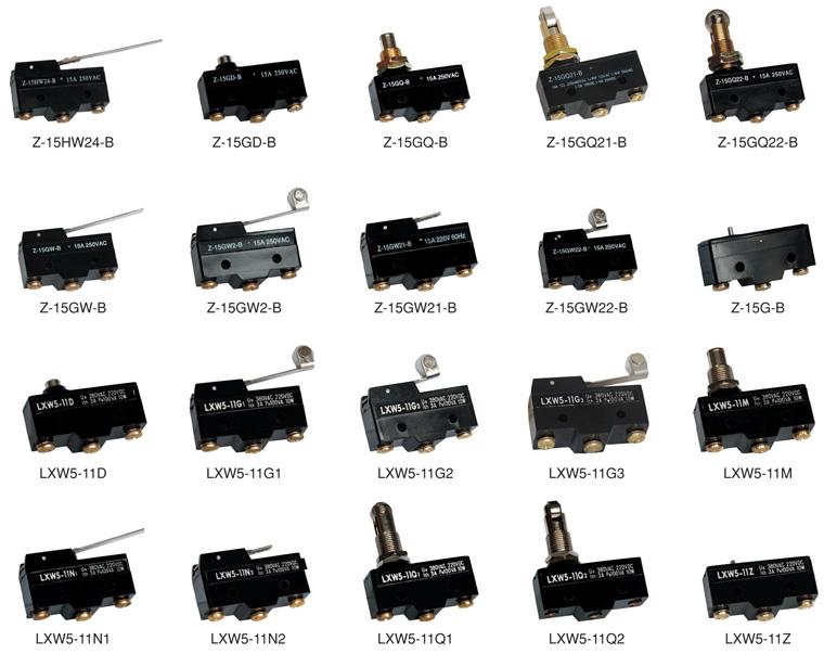 push off micro switch micro door switch