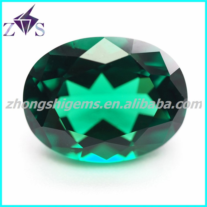 Green Artificial Emerald Nano Spinel Gems - Buy Emerald Spinel ...