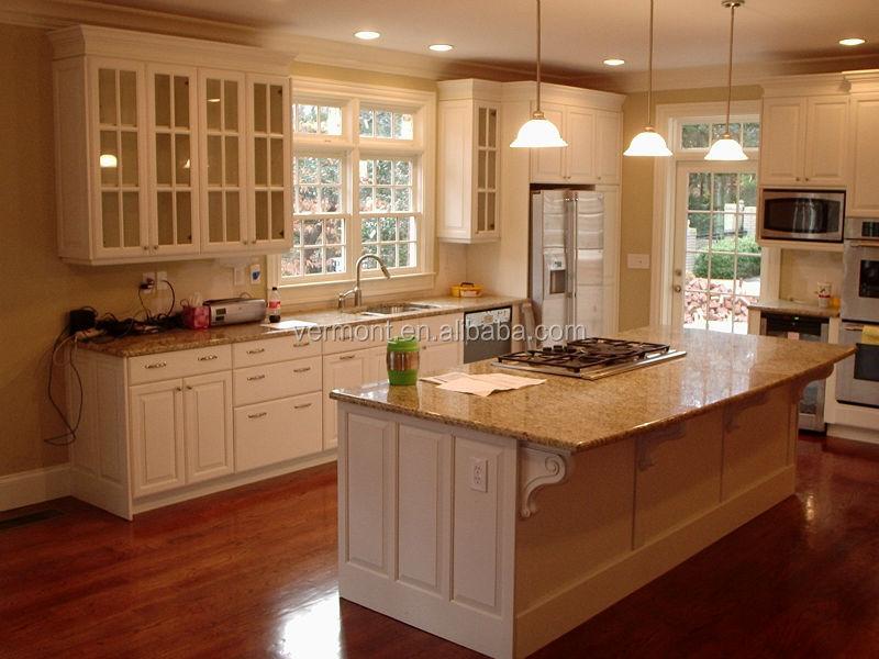 2017 Modern Kitchen Cabinets With Melamine Board Kitchen Wall ...