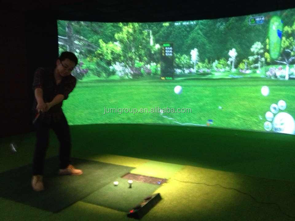 golf simulator machine