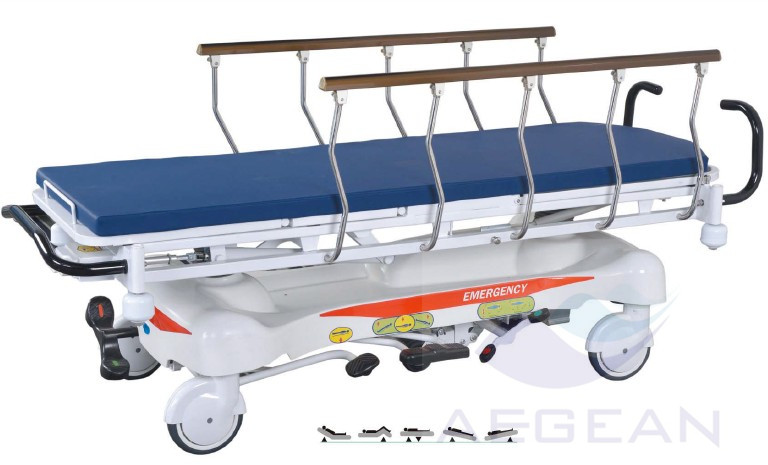 Ag-hs001 X-ray With Guide Rail Transport Hospital Stretcher Prices ...