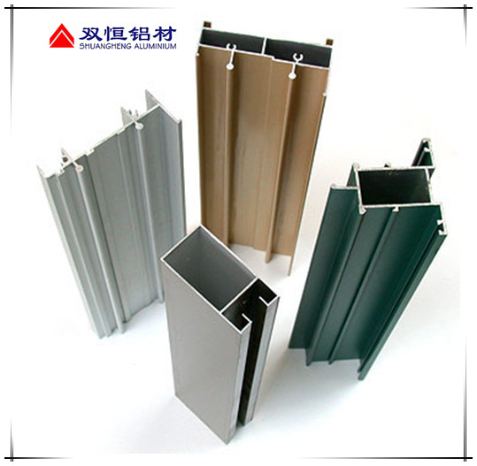 Aluminum Window Frame Material : Silver anodized aluminum window frame extrusion profiles