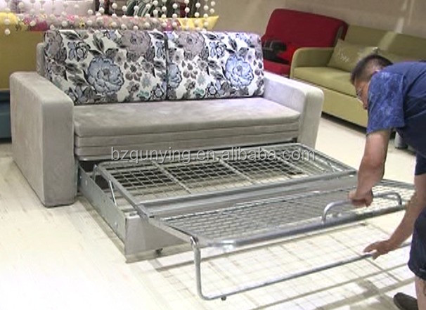 Full Size Futon Sofa Bed Steel Frame