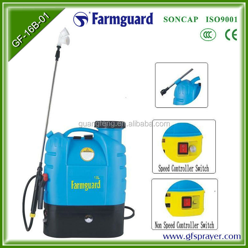 High Pressure Electric Sprayer Electric Water Pump Sprayer Battery