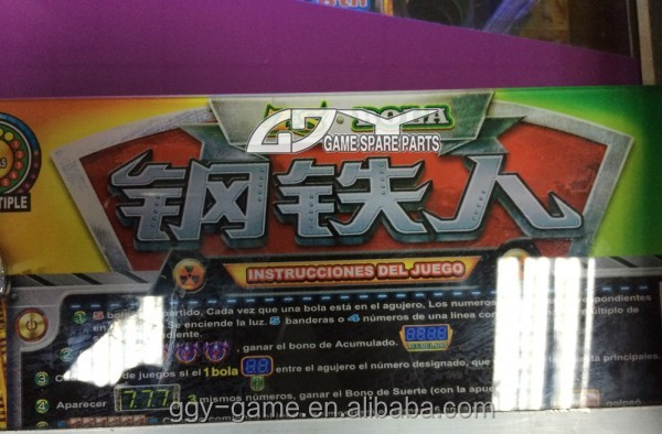 567 Balls Malaysia Pinball Game Machine Manufacturer