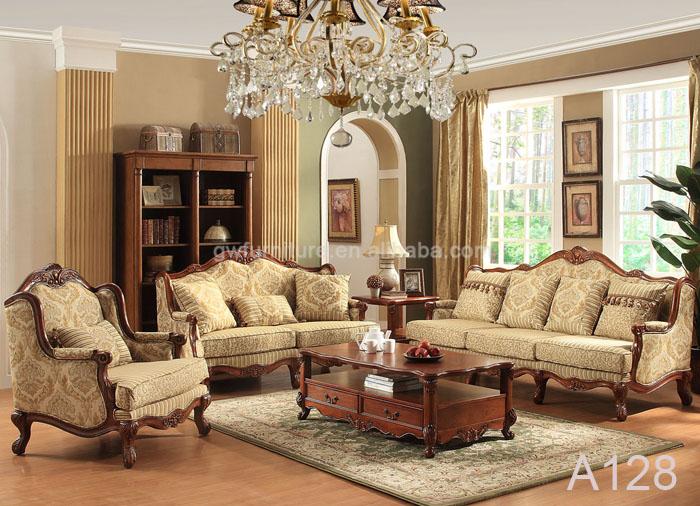 4 Pieces Sofa Set Wiht Loveseat