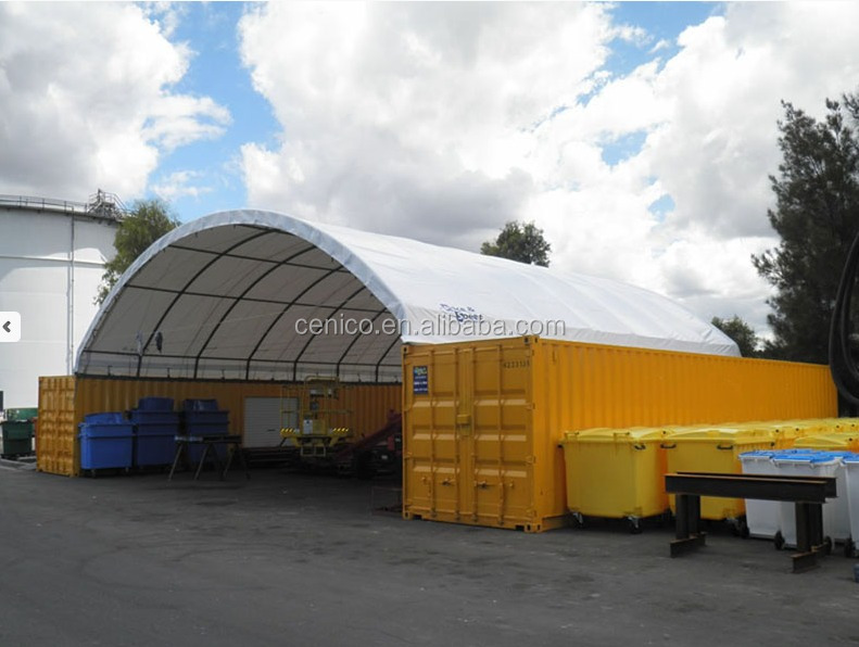 Arch Shipping Container Roof Shelter Domed Storage Shelter