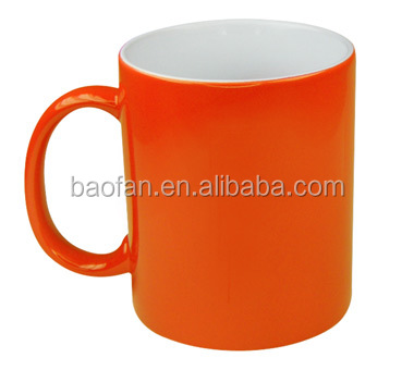 11OZ changing colour sublimation ceramic mug