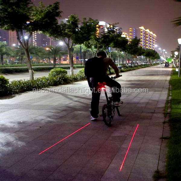 SJ-10237 Bicycle Parallel Lines Laser Tail Light