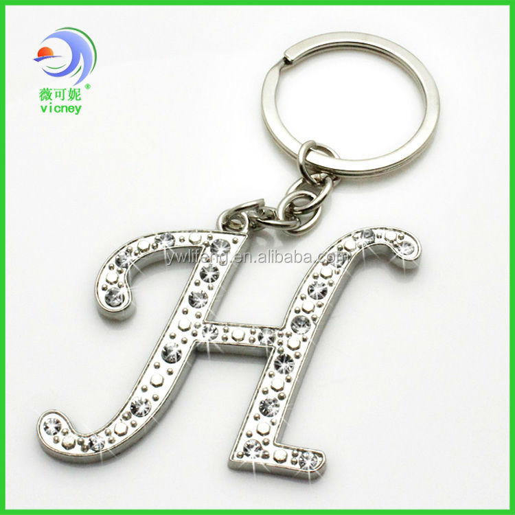 Beautiful rhinestone initial h letter keychains buy rhinestone beautiful rhinestone initial h letter keychains altavistaventures Image collections