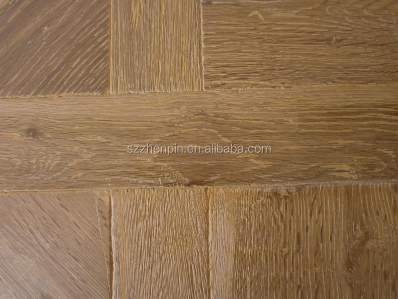 Rustikal holz  Eiche Rustikal Holz Versailles Parkettboden Versailles Parkett ...