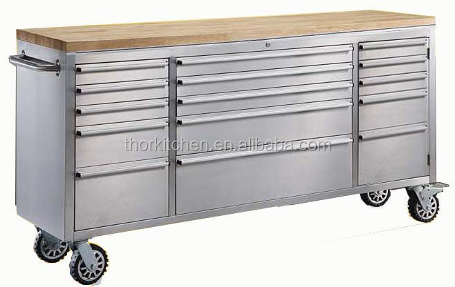 72 inch stainless steel work bench cabinet with drawerheavy duty rolling workbench - Rolling Workbench