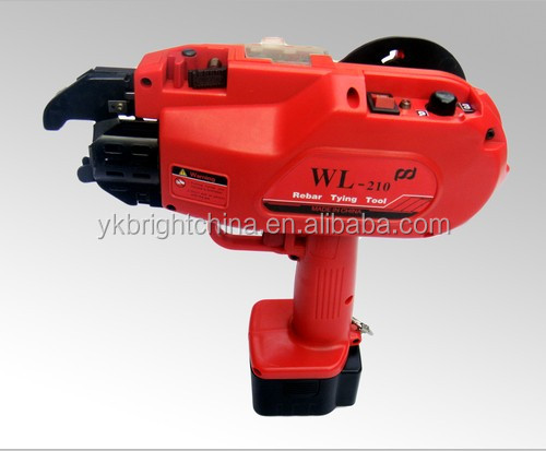 Hot Sale Portable Cordless Automatic Rebar Tying Machine Wl-210 ...