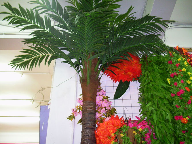 Make Fake Washington Palm Tree Artificial Fiberglass Palm