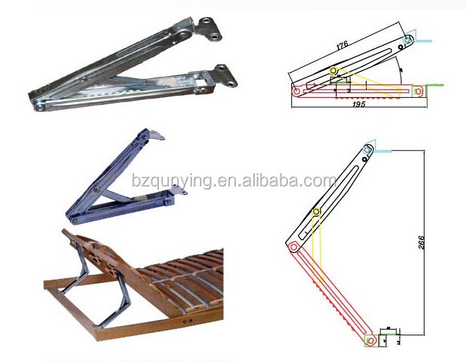 High Quality Advanced Adjustable Furniture Hardware Rising And Falling Hinges