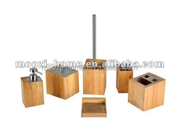 holz bad zubeh r spa setzt bambus bad accessoires buy. Black Bedroom Furniture Sets. Home Design Ideas