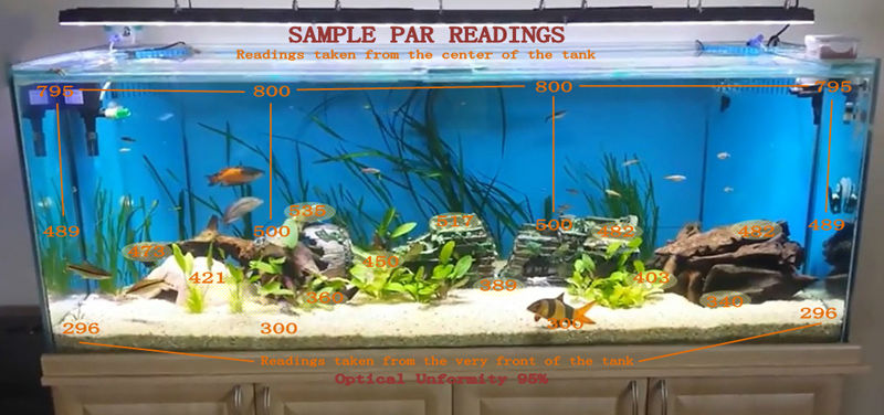 2014 New Design 48inch 4feet Dimmable Freshwater Fish Tank ...