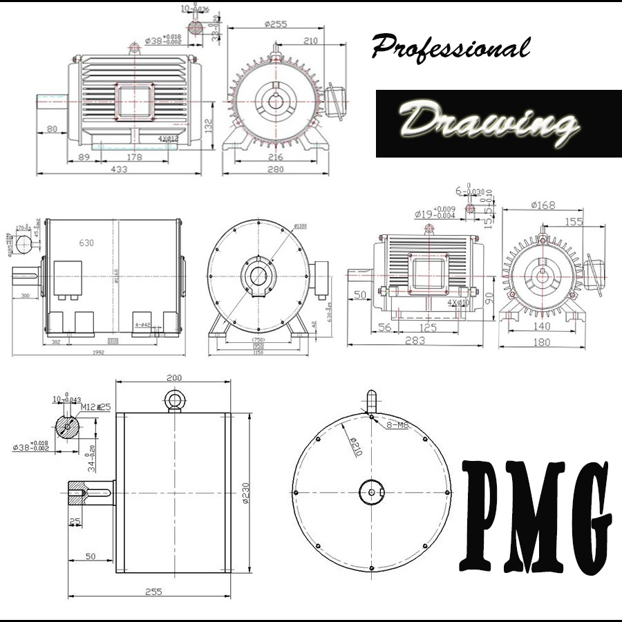 water turbine generator diagram