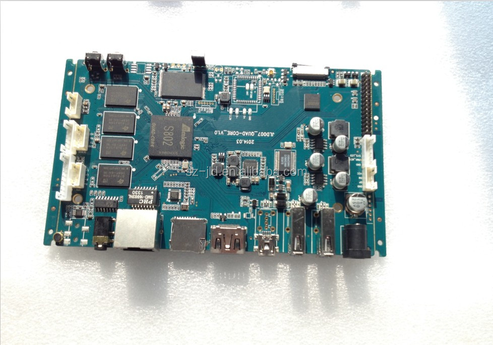 Amlogic S802 Android Custom Pcba /motherboard For Bus Advertising ...