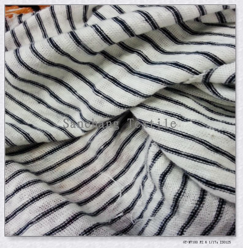 high quality melange gray 100% linen fabric for shirt