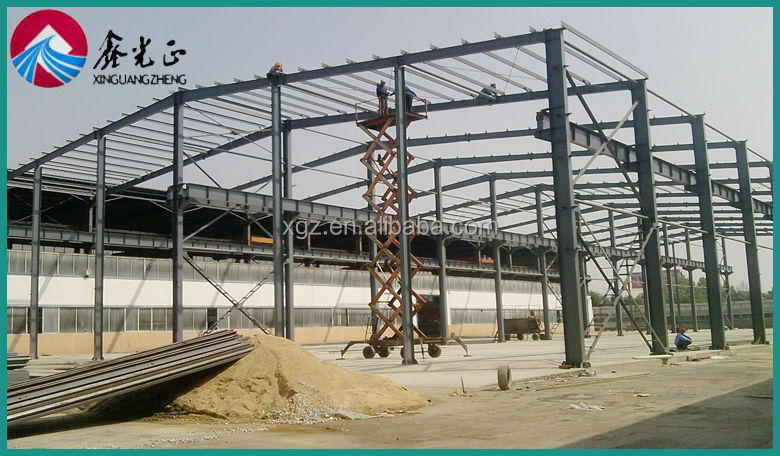 Steel Roof Construction Structures