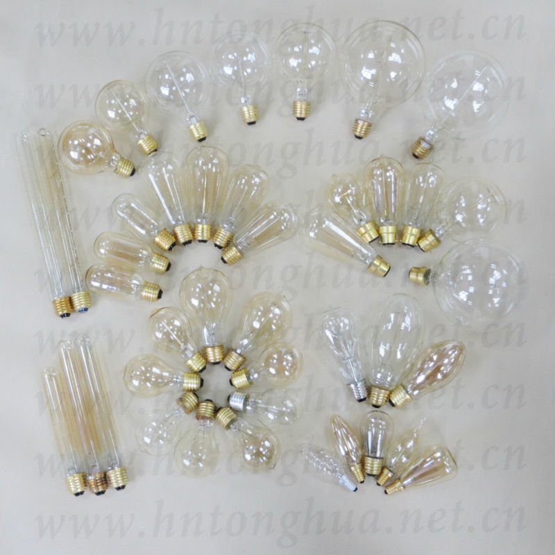 Edison Vintage 110v E26 E27 A19 A60 40w 60w Equivalent: A60/a19,A70,St58,St64,T45,G80,G95,,G125,B35,C35,T30 Round