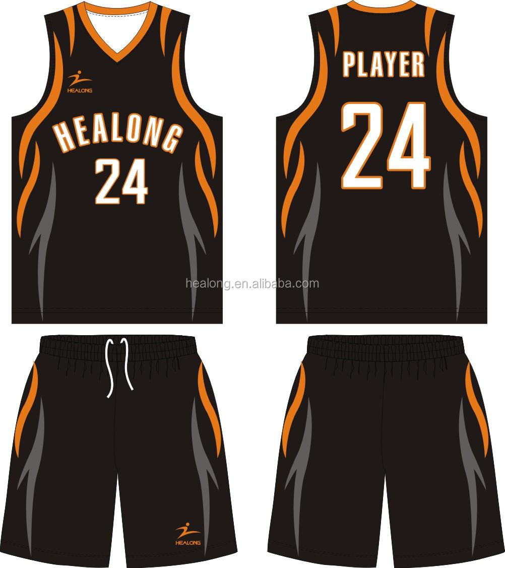 best jersey design basketball color black