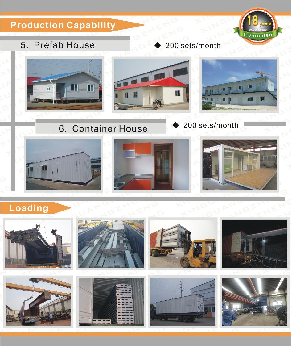 two story multi-storey steel structure warehouse