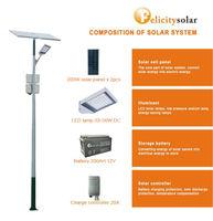 Guangzhou Felicity Pv Led Street Light With 6~10m Pole Led Lamp ...