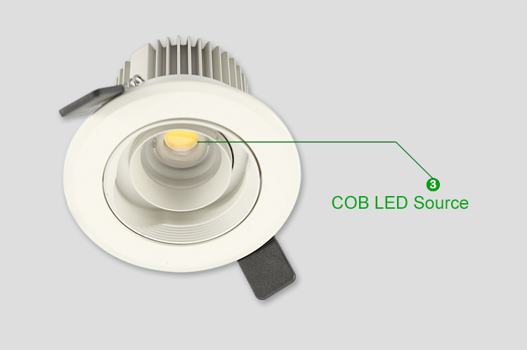 4w Cob Small Led Spot Light Recessed For Display Cabinet Lighting ...