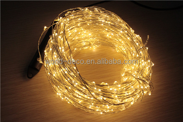 Warm White Micro Led Fairy Lights Battery Operated Mini Led String ...
