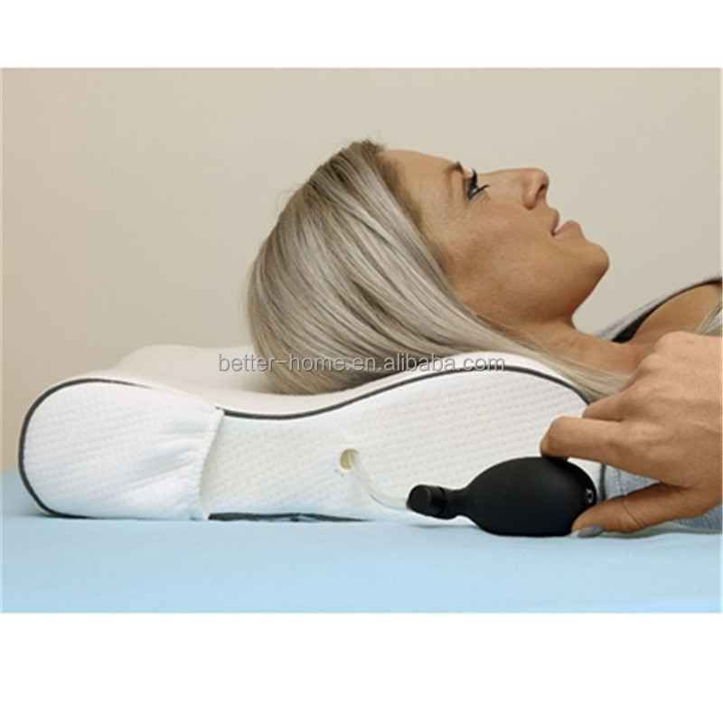 Memory Foam Medicated Pillow With Air Chamber