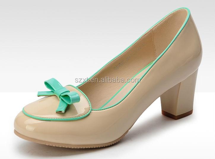 2015 Oem Women High Heels Pump Shoes Korea Lady New Design Lady ...