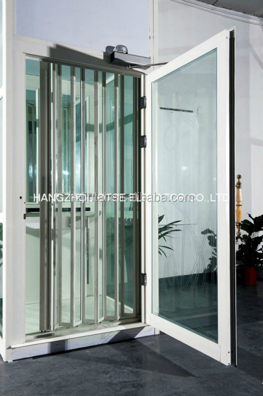 Small Building Glass Home Elevator For 320kg Lift Glass